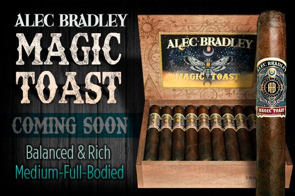 Alec Bradly Magic Toast