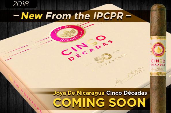 Joya de Nicaragua Celebrates 50th Anniversary With Cinco Décadas